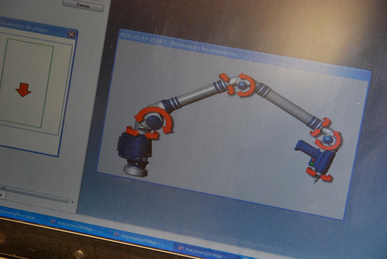 Scan 3D pour usinage mécanique